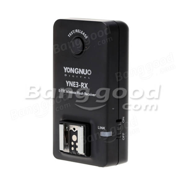 Yongnuo E-TTL YNE3-RX Wireless Remote Flash Receiver For YN-E3-RT