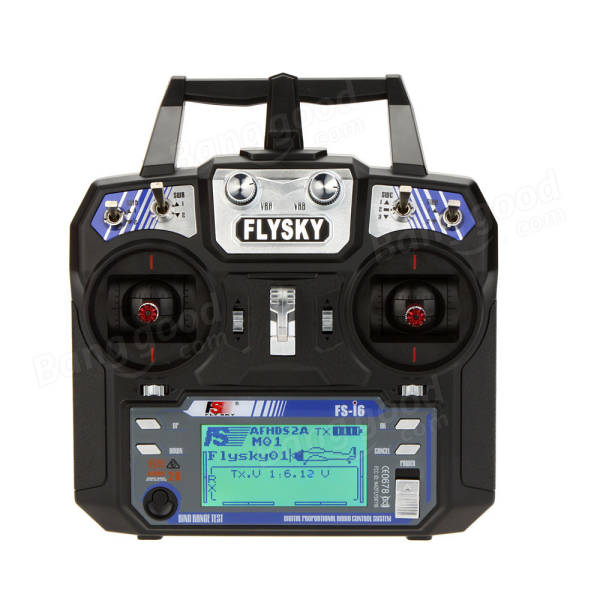 FlySky FS-i6 2.4G 6CH AFHDS RC Transmitter With FS-iA6 Receiver
