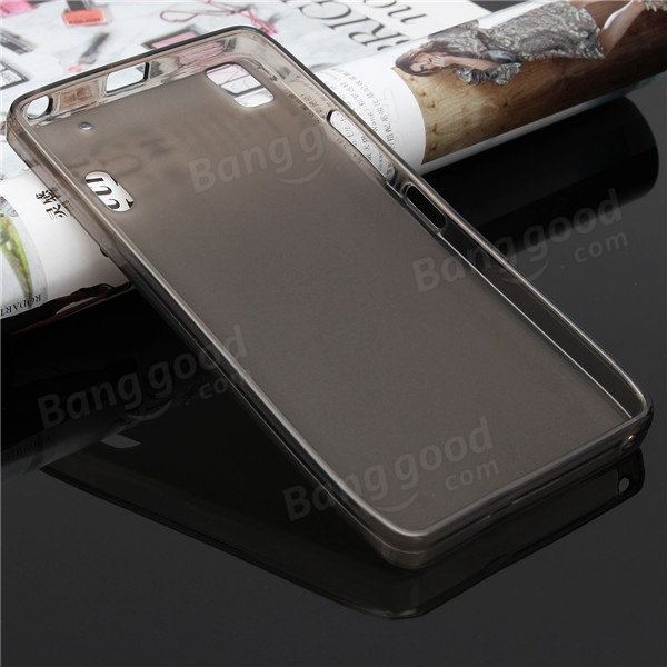 TPU Soft Jelly Clear Transparent Case Cover For Lenovo K3 NOTE A7000