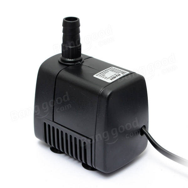 SUNSUN 210GPH 800L/h 18W Aquarium Fish Tank Adjustable Submersible Pump 4 Sucker